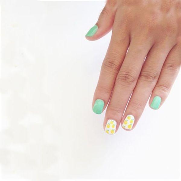 Nail art for summer