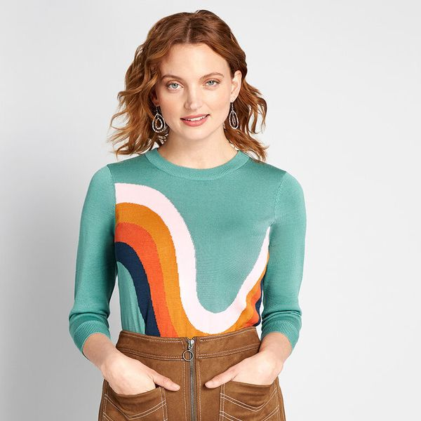 Modcloth Charm Pullover