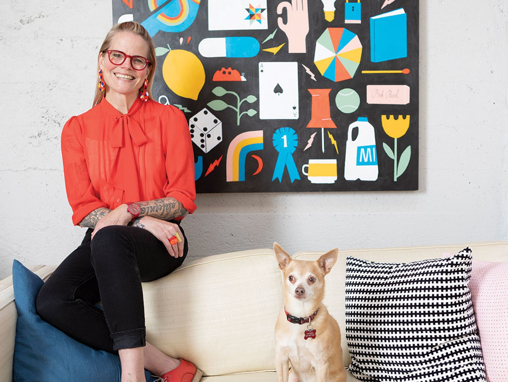 Lisa Congdon On Creativity, Activism, and Finding Your Flow