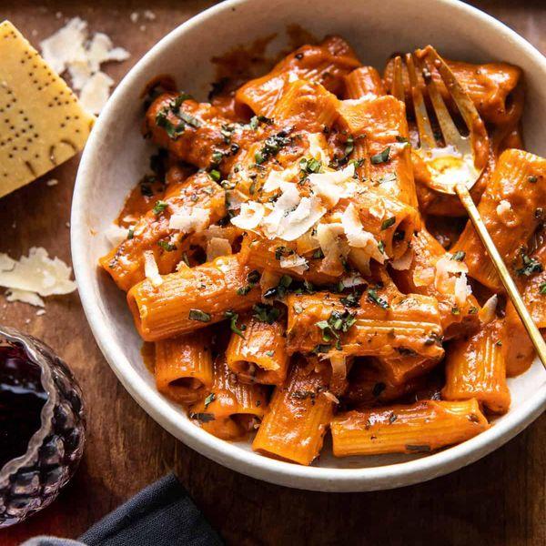 pesto pasta with vodka recipe