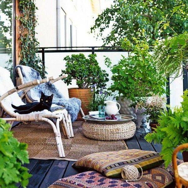 tiny outdoor garden ideas for living in the city