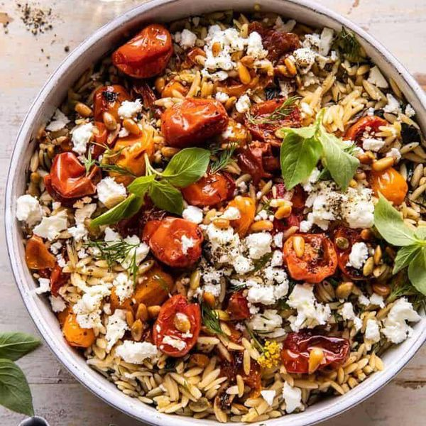 This Tomato Basil Orzo Recipe Is Perfect As A Summer Side Or Main