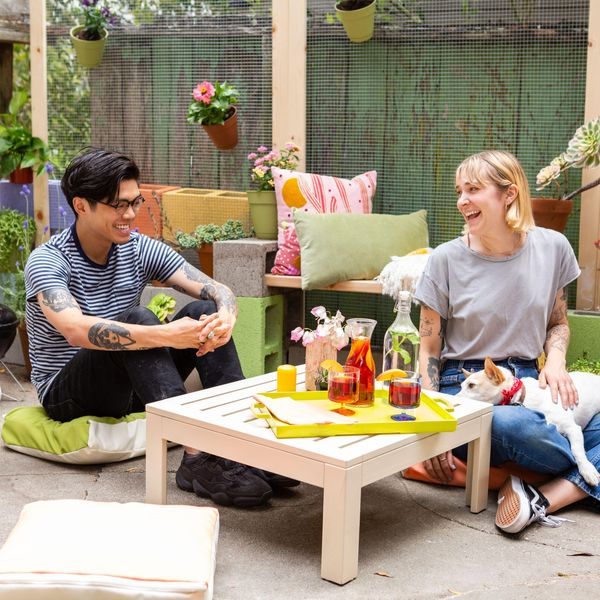 affordable summer outdoor decor