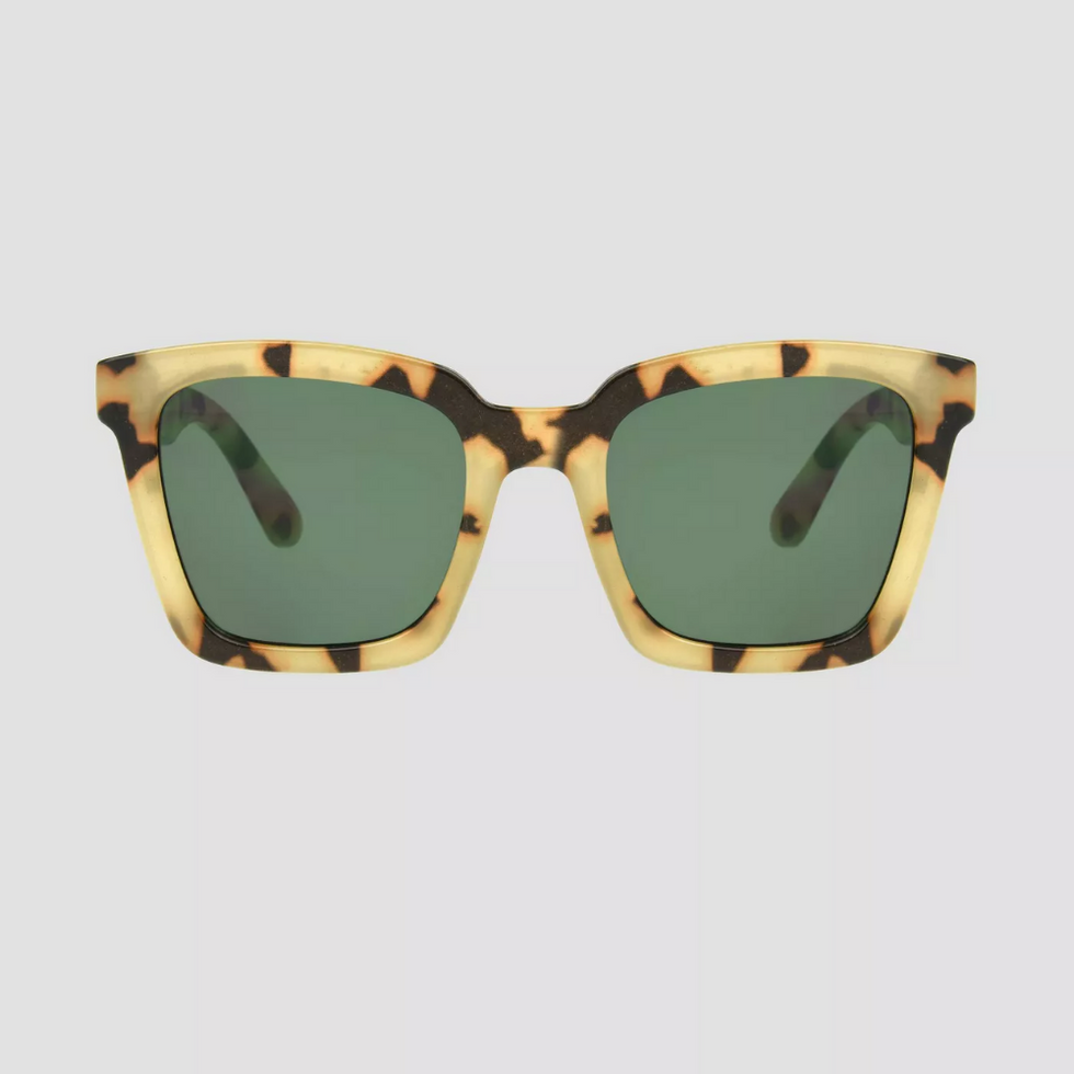 tortoise square with green lenses from target