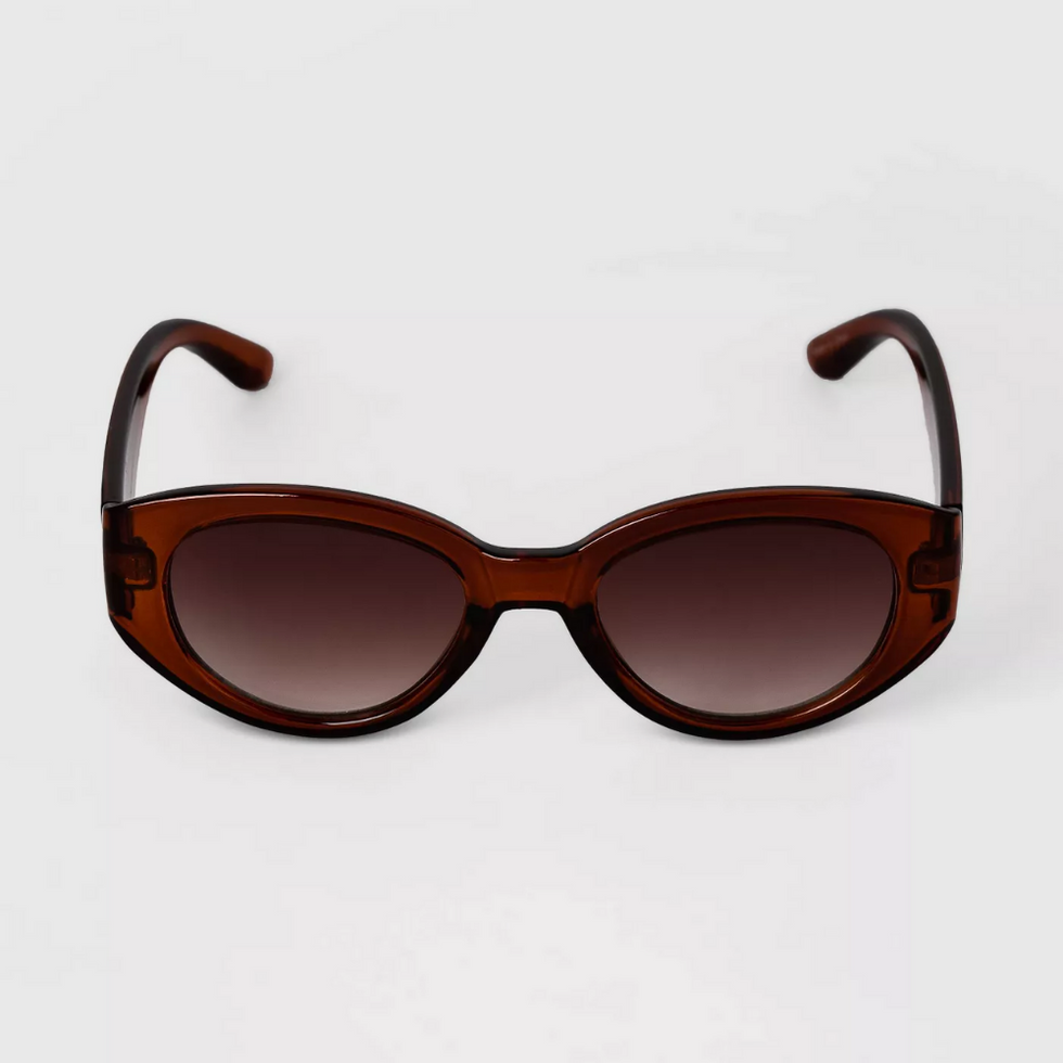 oval round summer sunglasses from target