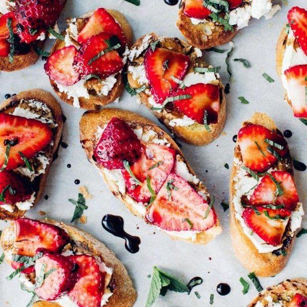 diy summer crostini recipes