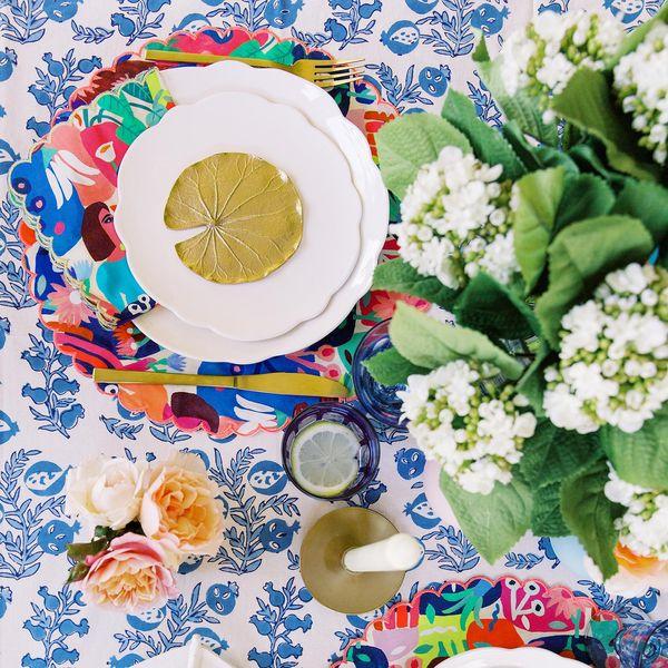 summer table decor