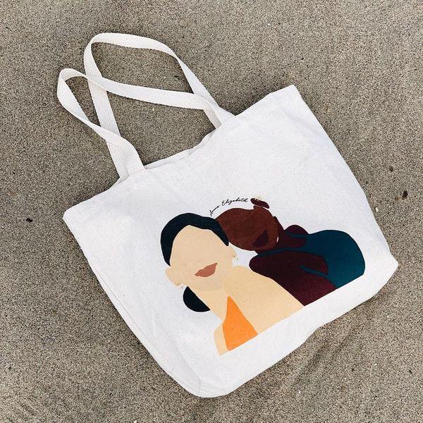 cute summer tote bags