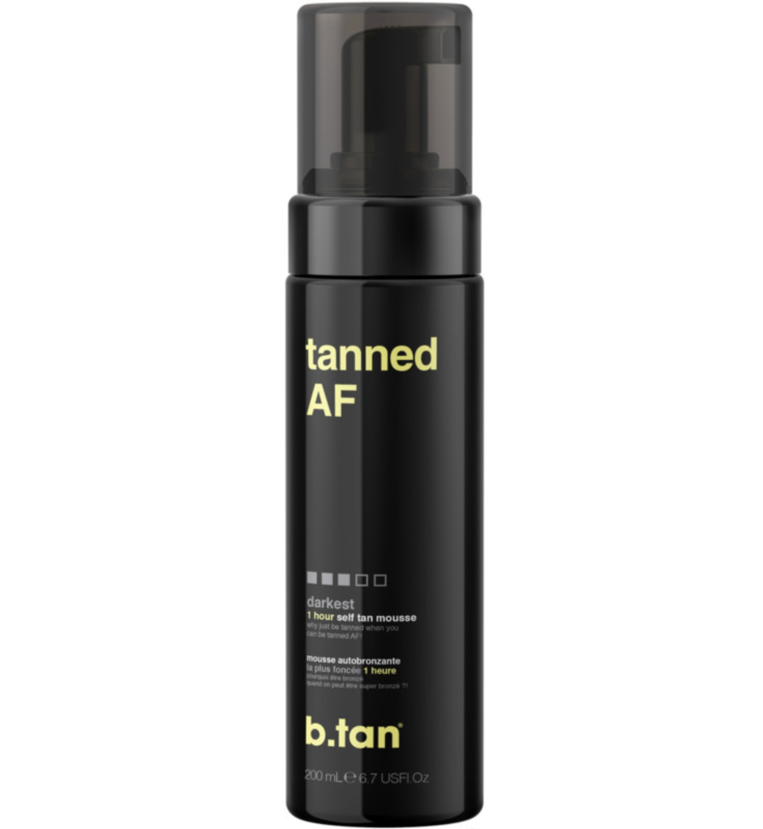 b.tan Tanned AF 1 Hour Self Tan Mousse
