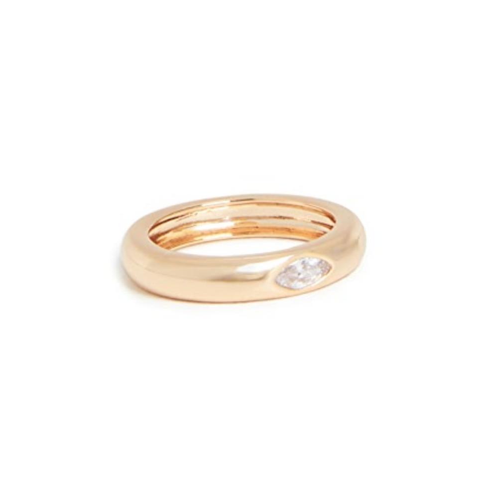 u200bShashi Beam Ring Gold Jewelry