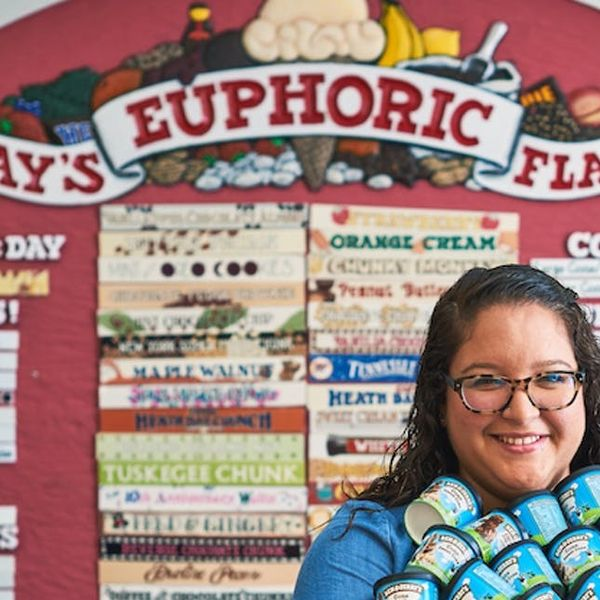 This Woman's Entire Job Is to Create New Ben & Jerry's Ice Cream Flavors