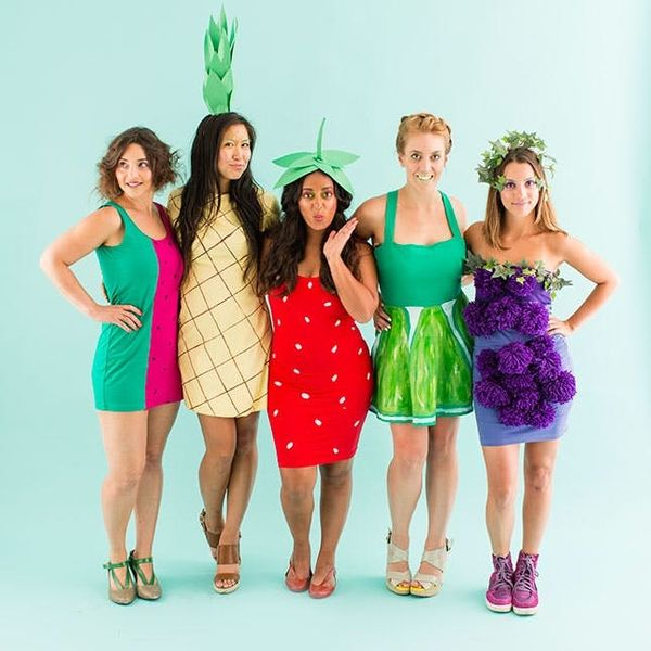 How to Be a Fruit Salad With Your Squad for Halloween