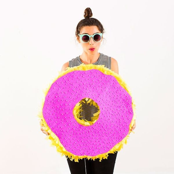 How to Make a Donut Piñata for Your Next Party