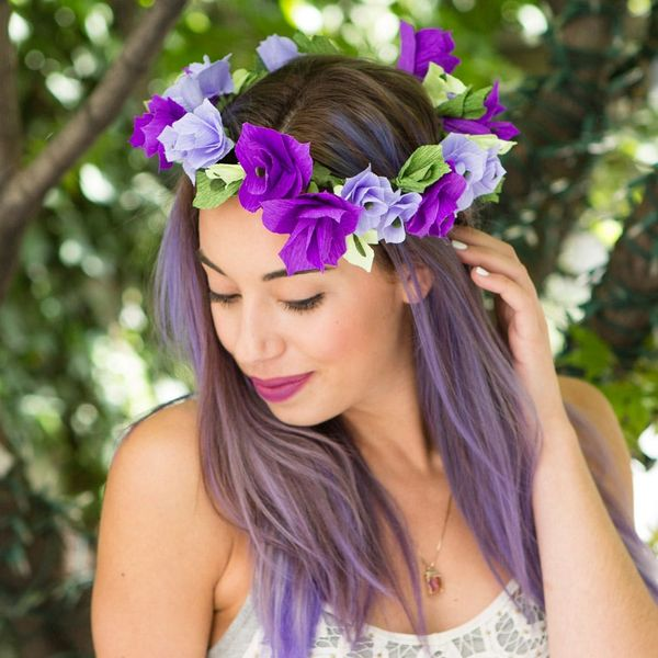 The ONE Technique You Need to Know to Make Beautiful Paper Flower Crowns