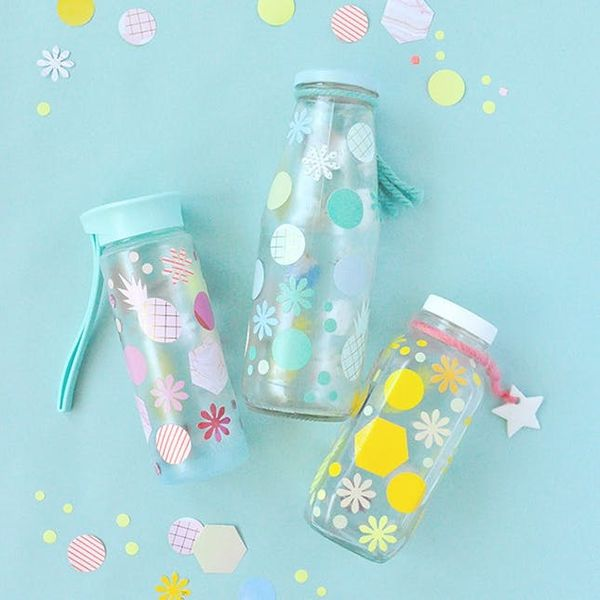 8 Easy DIYs to Personalize Your Trusty Water Bottle