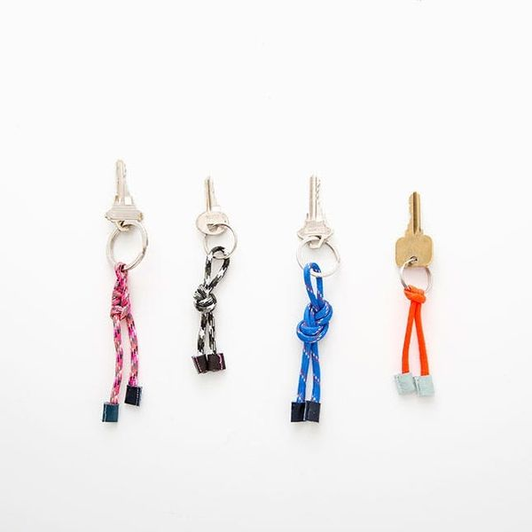 How to Make a Nautical Madewell Key Chain in Under 15 Minutes