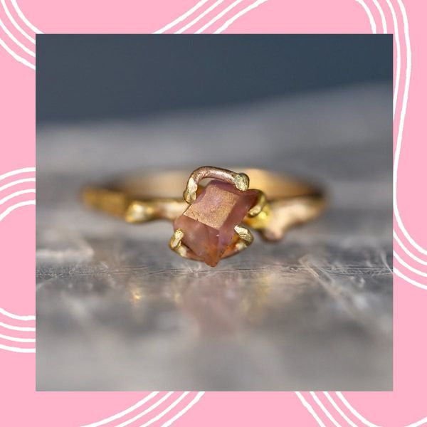 19 Gemstone Engagement Rings When You Can't Afford a Diamond