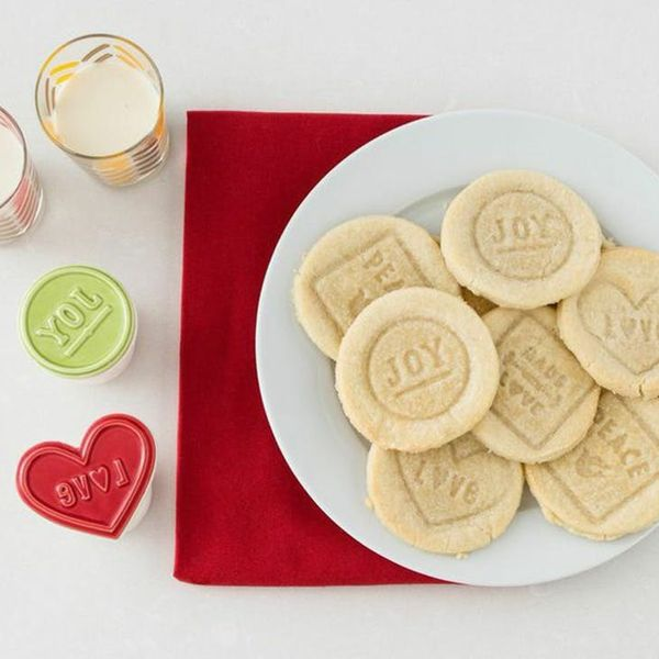 Gift Your Friends Hand-Stamped Holiday Shortbread Cookies