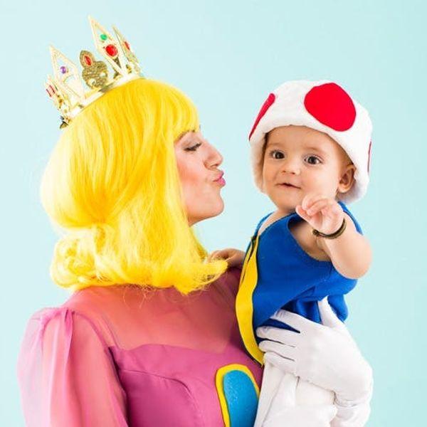 6 Genius DIY Mom and Baby Halloween Costumes