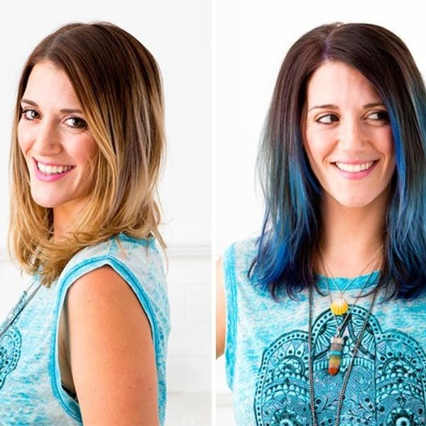 How to (Literally) Color Your Hair, No Foil Required