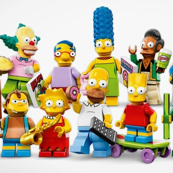 The BritList: How to Moonwalk, LEGO Simpsons Minifigs and More
