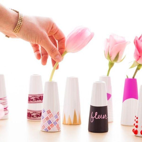 10 Brilliant Ways to Create a Custom Bud Vase