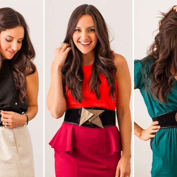 Make a Glitzy Interchangeable Belt for All Your Holiday Parties
