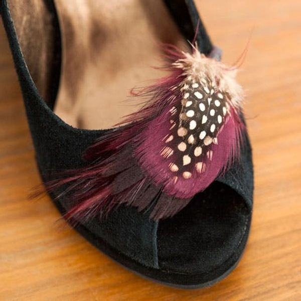 Create Interchangeable Toppers for Your Peep Toe Pumps