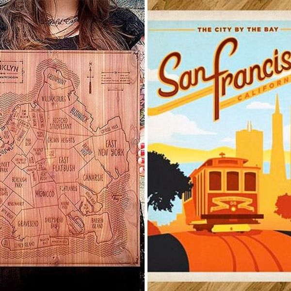 Locals Only: 15 Geographical Gift Ideas