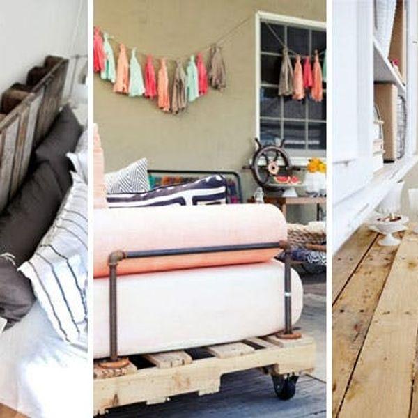 25 Creative Ways to Repurpose Pallets