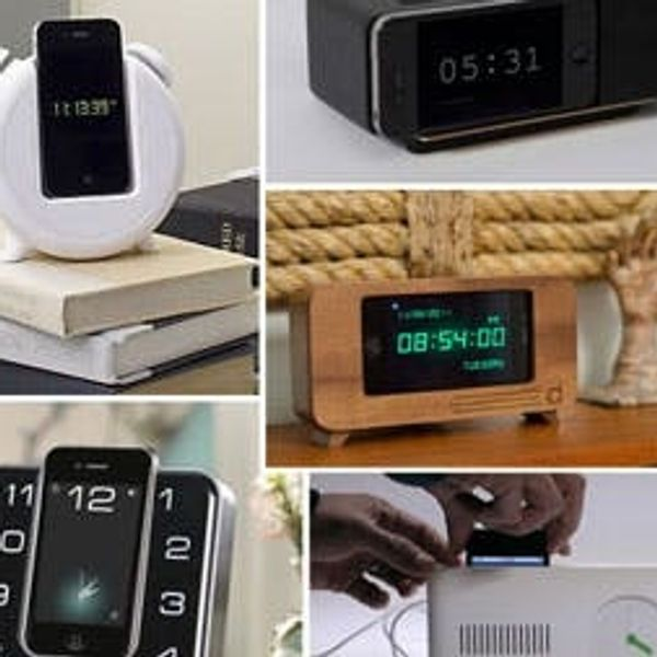 5 Clock Docks That'll Make Your Nightstand Rock