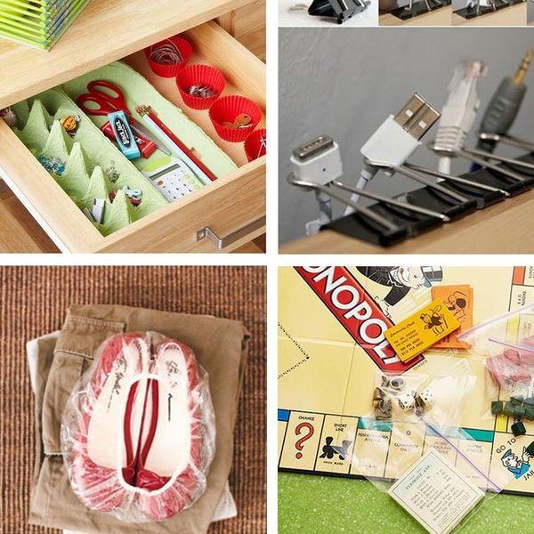 20 Insanely Clever Organization & Storage Tricks