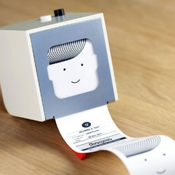 The Littlest Printer You'll Ever Own