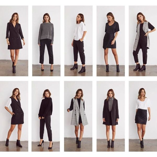 5 Capsule Collections That Take the Stress Out of Getting Dressed