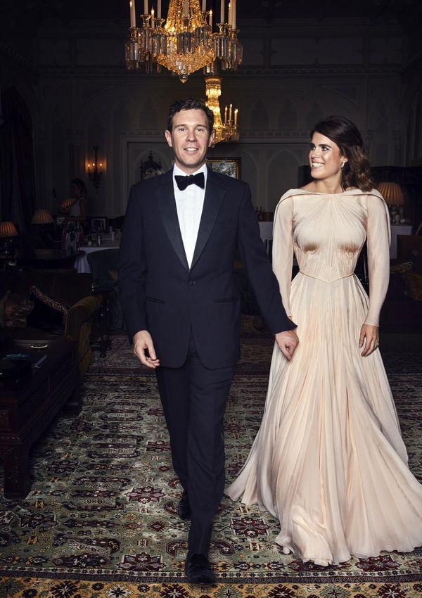 Princess Eugenie's Wedding Reception Dress Was a Showstopper