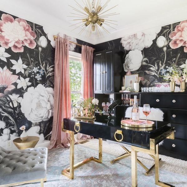 Inside Kaitlyn Bristowe's Rosé-Inspired Home Office Makeover