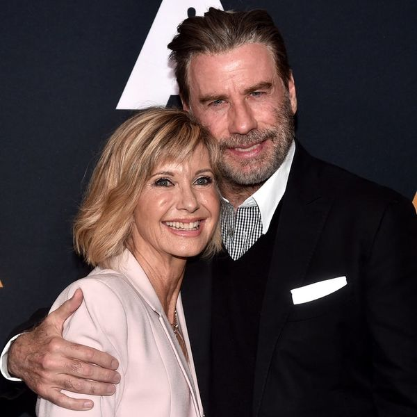 'Grease' Stars Olivia Newton-John and John Travolta Reunited for the Film's 40th Anniversary