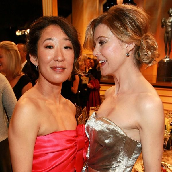 Find Out What Ellen Pompeo Had to Say About Sandra Oh's Historic Emmy Nomination