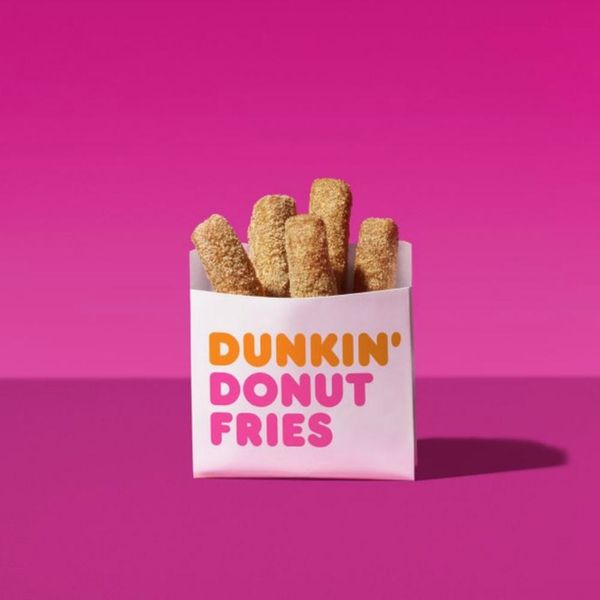 Dunkin' Donuts Is Giving Away Free Donut Fries for National French Fry Day
