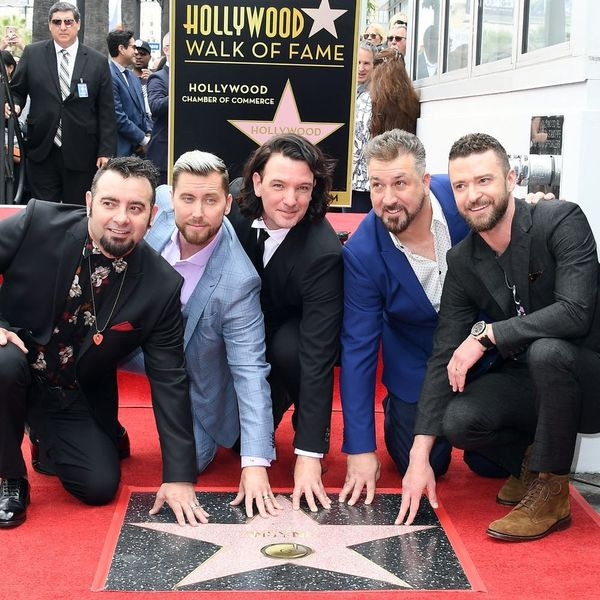 *NSYNC Reunited to Celebrate Their Hollywood Walk of Fame Star — See the Pics!
