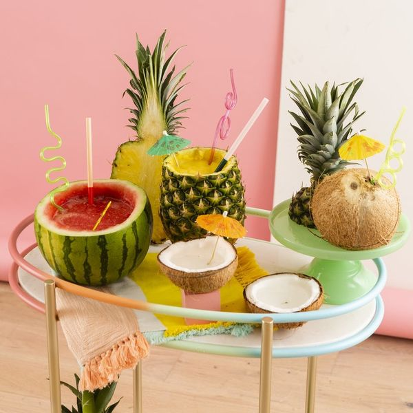 How to Turn 3 Summery Fruits into Cocktail Cups