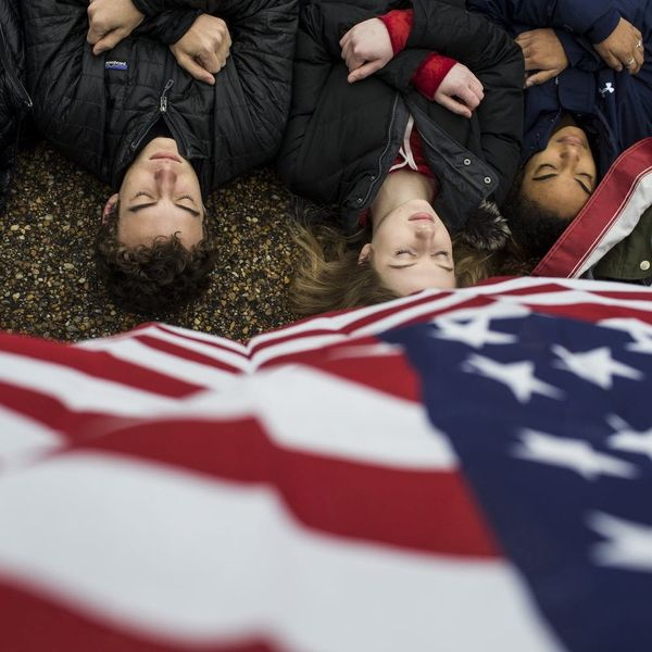Teens Organized a Powerful President's Day 'Lie-in' to Demand Gun Reform at the White House