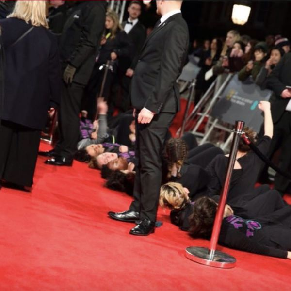 Why Feminist Protesters Sisters Uncut Stormed the BAFTA Red Carpet