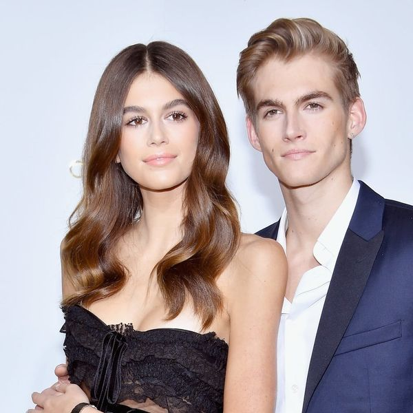 Kaia Gerber's Brother Just Got Her Name Tattooed on His Arm