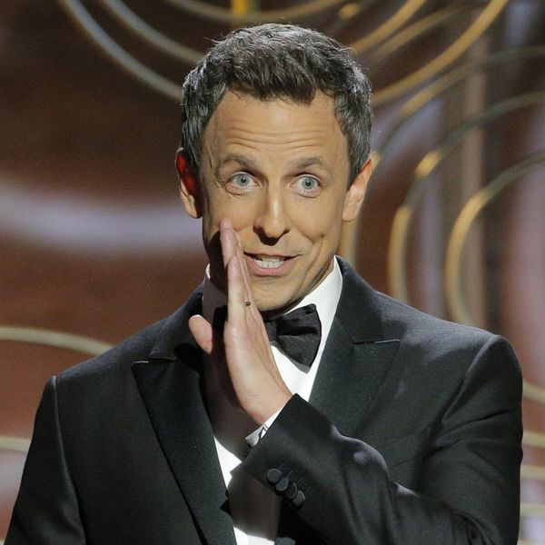 Golden Globes 2018 Host Seth Meyers Pulled No Punches in His Opening Monologue