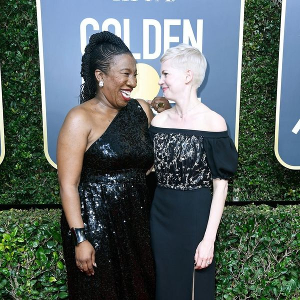 These Eight Actresses Walked the Golden Globes Red Carpet 2018 With Extraordinary Female Activists