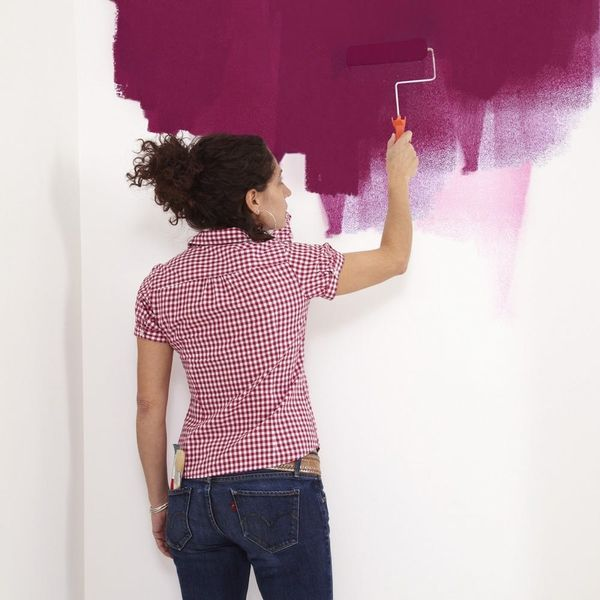 Paintable Temporary Wallpaper Is a Thing and Renters Everywhere Are Rejoicing
