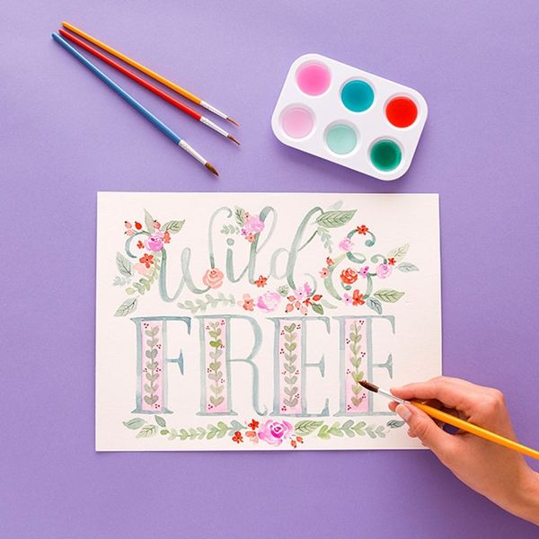 Watercolor, Lettering, and Illustration! Learn It All With Valerie McKeehan
