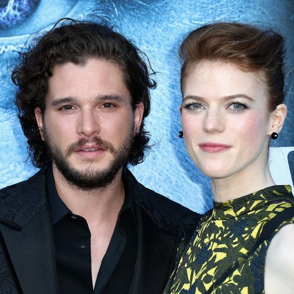 Here's Your First Glimpse at Rose Leslie's Engagement Ring