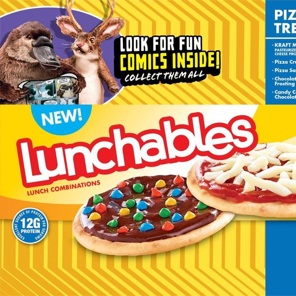 '90s Kids, Rejoice: Lunchables Is Re-Launching Pizza and Treatza